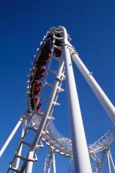 La Ronde's Le Boomerang Roller Coaster